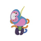 Everyday Moveable Monkey Card