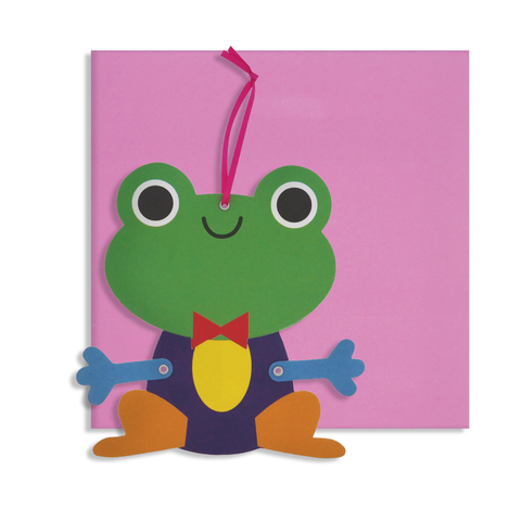 Everyday Moveable Frog Card