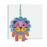 Everyday Moveable Lion Card