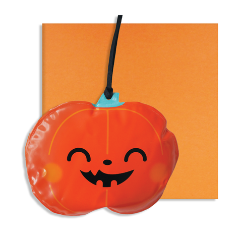 Halloween Inflatable Pumpkin Card
