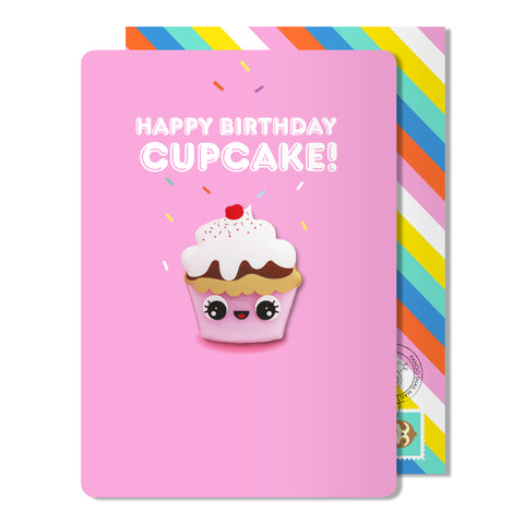 Birthday Cupcake Magnet Card