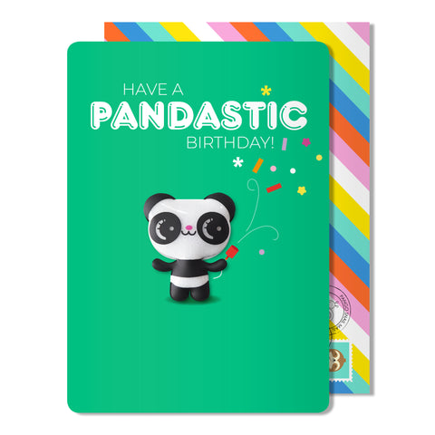Pandastic Birthday Magnet Card