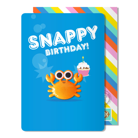Snappy Birthday Magnet Card