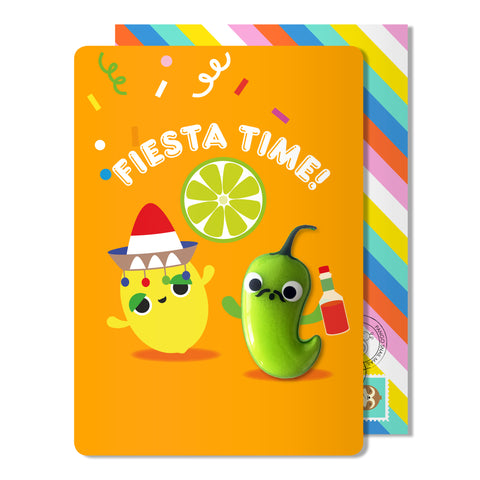 Fiesta Time Magnet Card