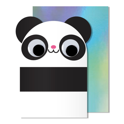 Googly Eye Panda Card