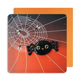 Halloween Spider Card