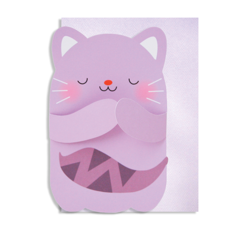Hug Cat Card