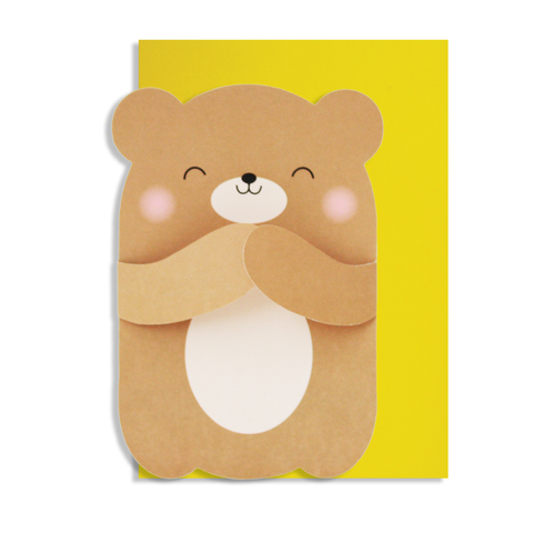 Hug Bear Card