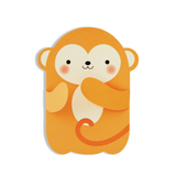 Hug Monkey Card