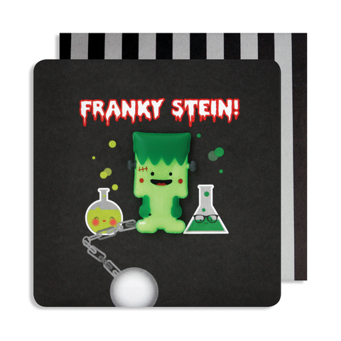 Halloween Frankenstein Magnet Card