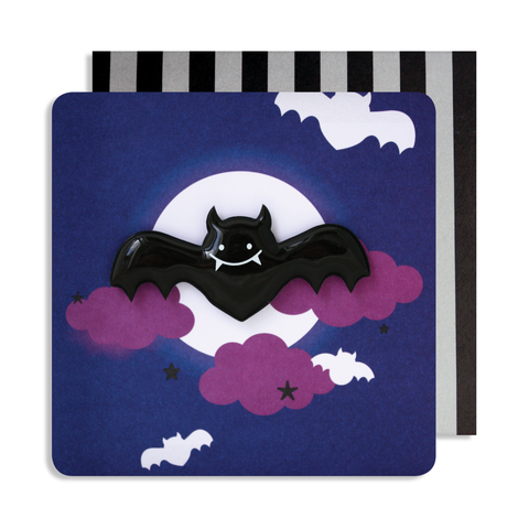 Halloween Bat Magnet Card