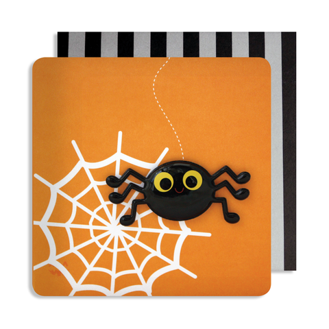Halloween Spider Magnet Card