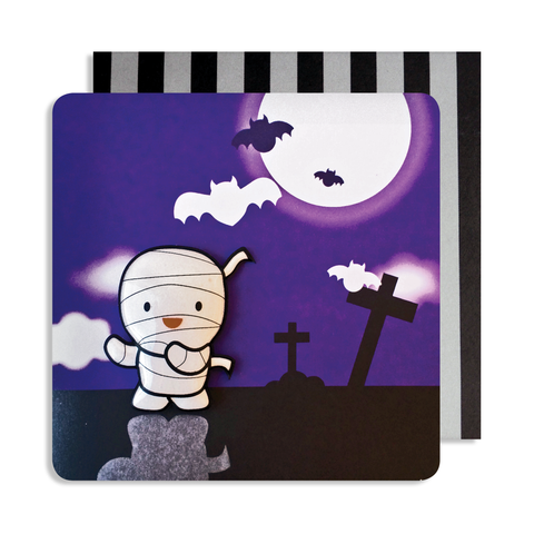 Halloween Mummy Magnet Card