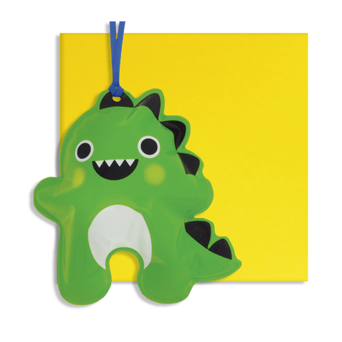 Inflatable Dinosaur Card