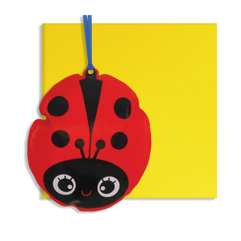 Inflatable Ladybird Card