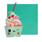 Inflatable Cupcake Card