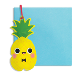 Inflatable Pineapple Card