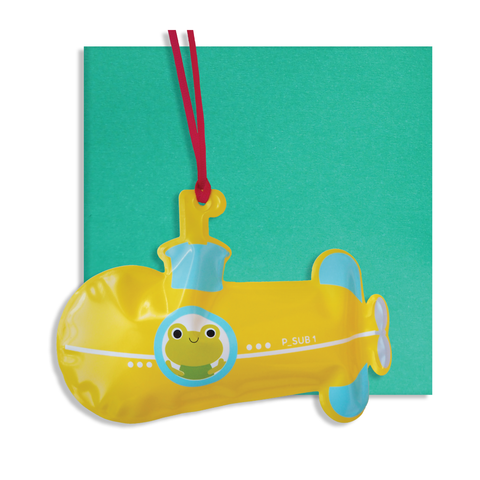 Inflatable Submarine Card