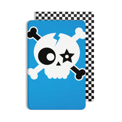 Glow in the Dark Skull Card