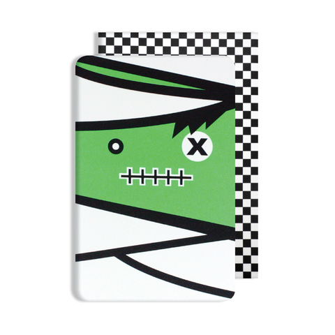 Glow in the Dark Mummy Card
