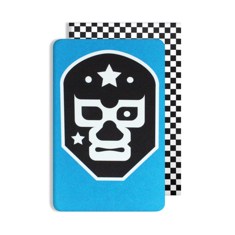 Glow in the Dark Mexican Wrestler Card