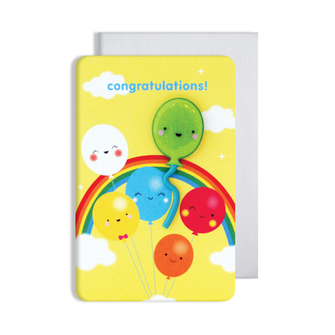Jellies Congratulations Magnet Card