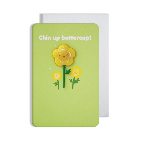 Jellies Chin Up Magnet Card