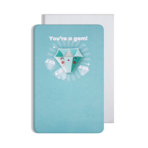 Jellies You're A Gem Magnet Card