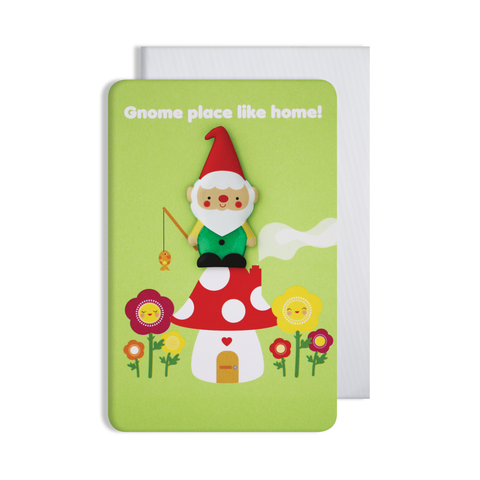 Jellies New Home Magnet Card