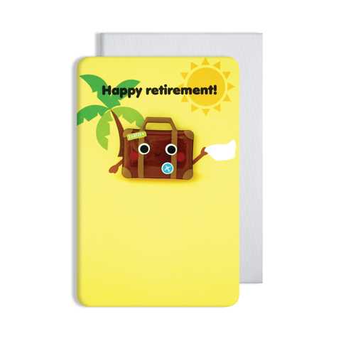 Jellies Retirement Magnet Card