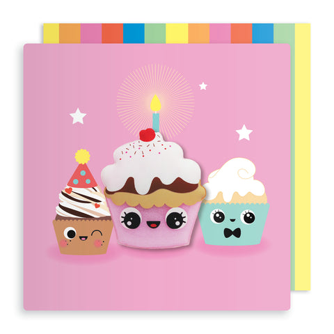 Cupcake Magnet Birthday Card