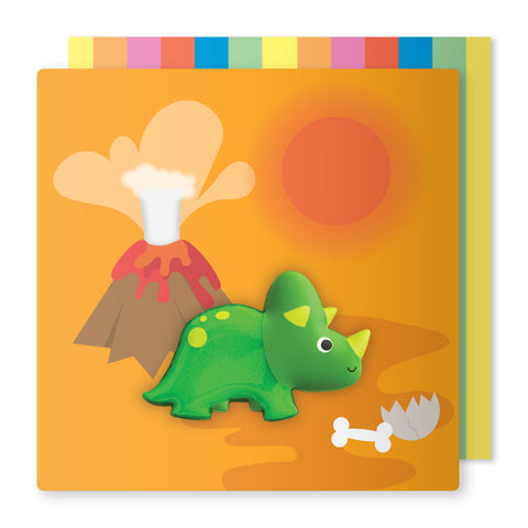 Triceratops Magnet Card