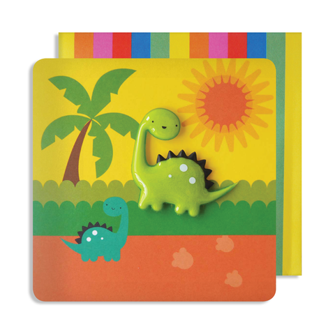 Jelly Mould Magnet Dinosaur Card