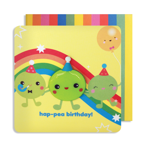 Jelly Mould Magnet Pea Card