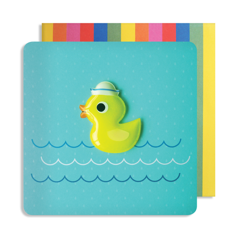Jelly Mould Magnet Duck Card