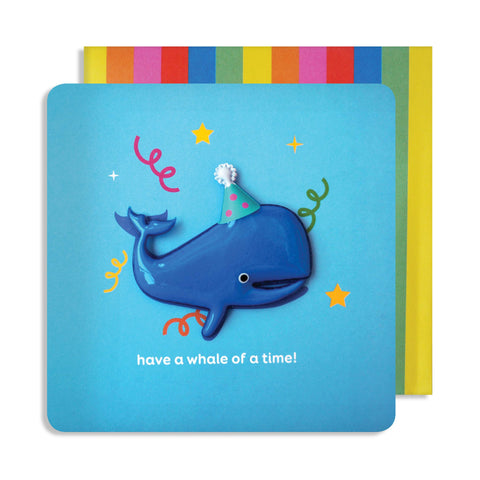 Jelly Mould Magnet Whale Card