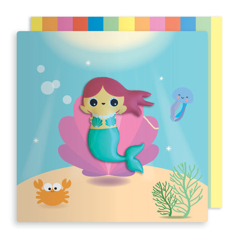 Mermaid Magnet Card