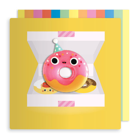 Jelly Mould Magnet Doughnut Card