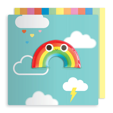 Jelly Mould Magnet Rainbow Card
