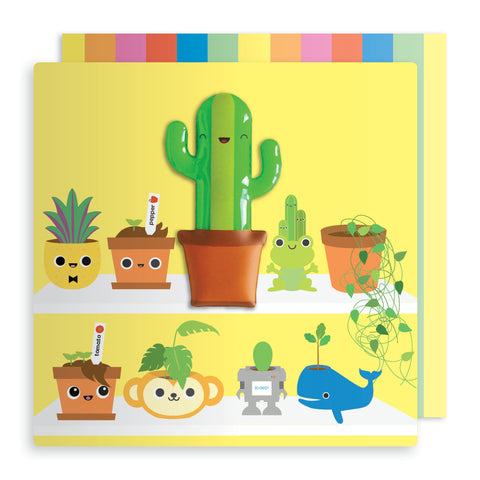 Jelly Mould Magnet Cactus Card