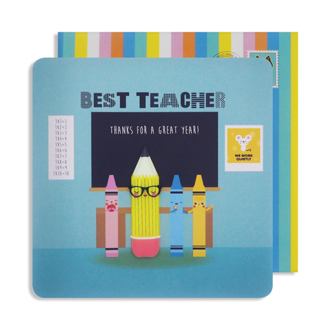 Jelly Magnet Teacher Card