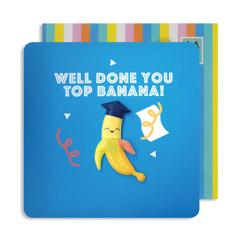 Jelly Magnet Top Banana Card