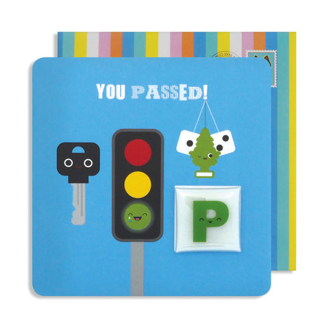 Jelly Magnet You Passed Driving Test Card