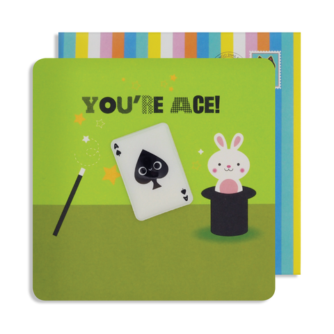 Jelly Magnet You're Ace Card