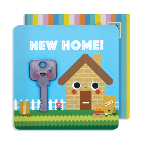 Jelly Magnet New Home Card