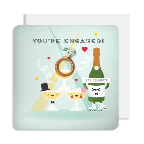 Jelly Magnet Engagement Card