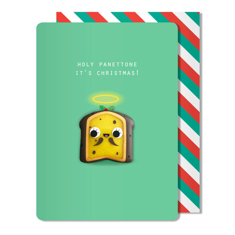 Christmas Panettone Magnet Card