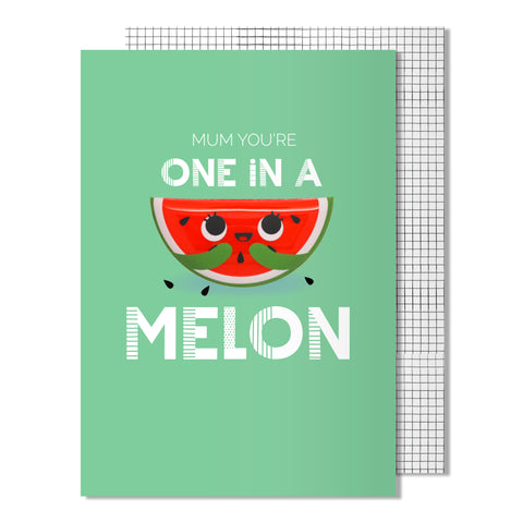 Mother's Day One in a Melon Card