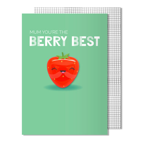 Mother's Day Berry Best Card