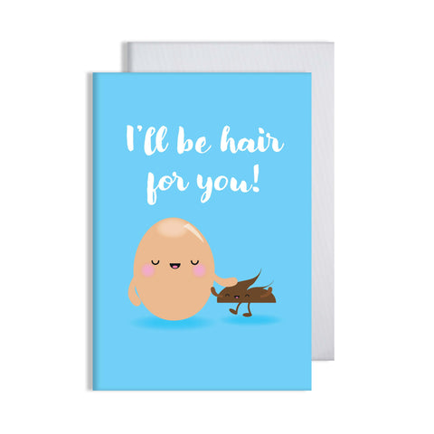Hair For You Egg Card